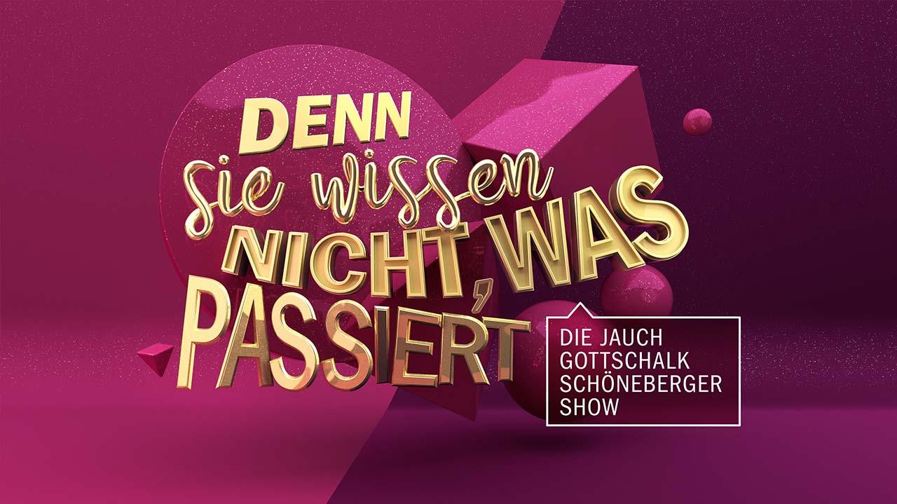 Denn sie wissen nicht, was passiert! Die Jauch-Gottschalk-Schöneberger-Show
